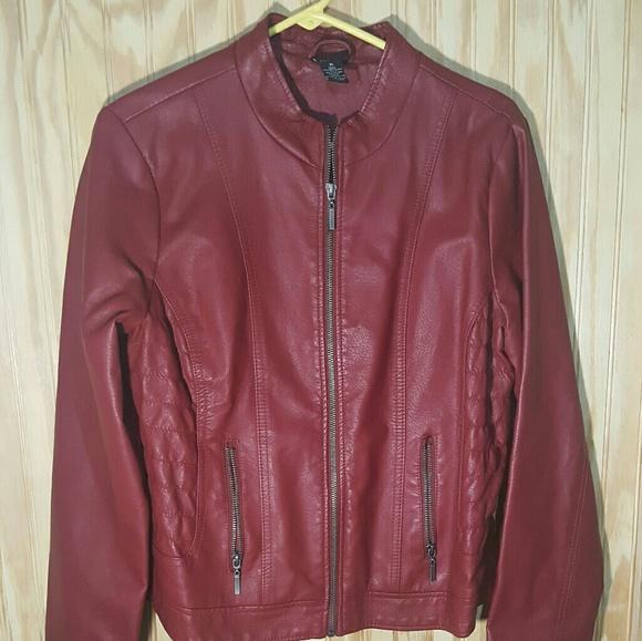 Rue21 Jackets & Blazers - Faux leather jacket